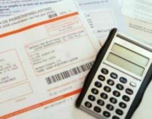 Flexi job inkomsten belastingbrief